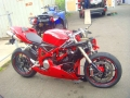 moto accidentee DUCATI 1098 1098