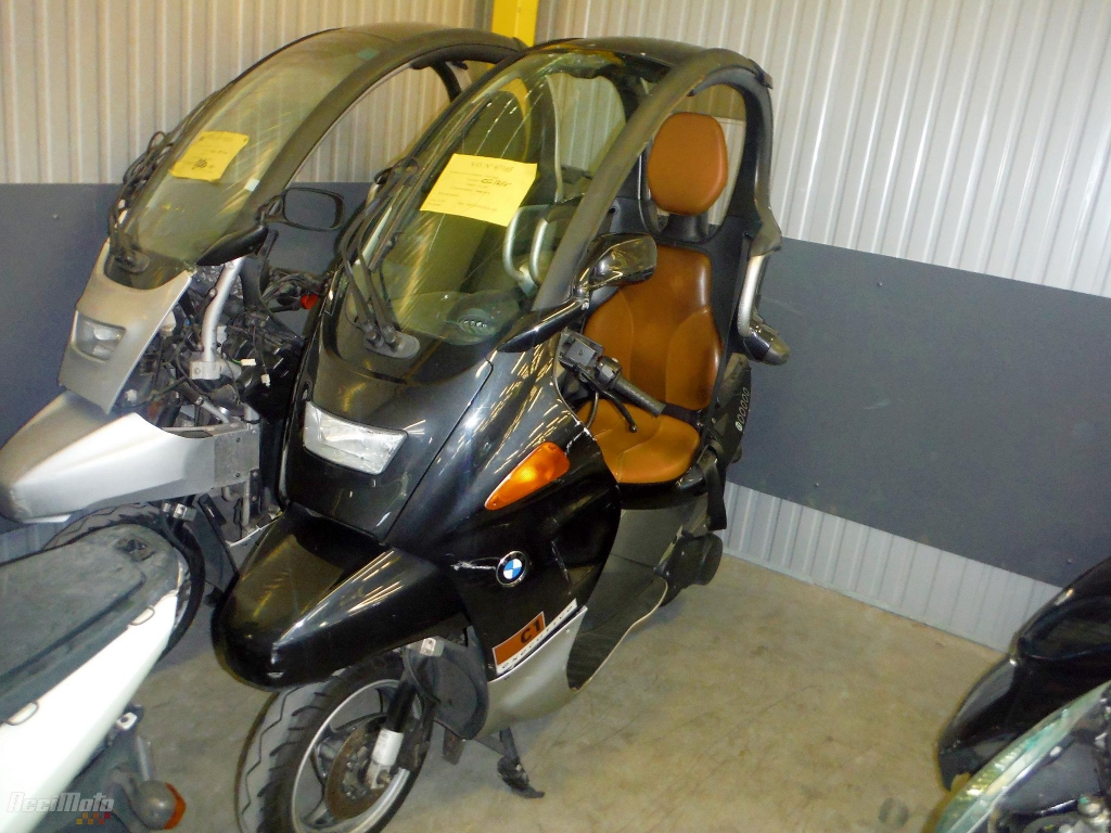moto accident e bmw c1 125 noir. Black Bedroom Furniture Sets. Home Design Ideas