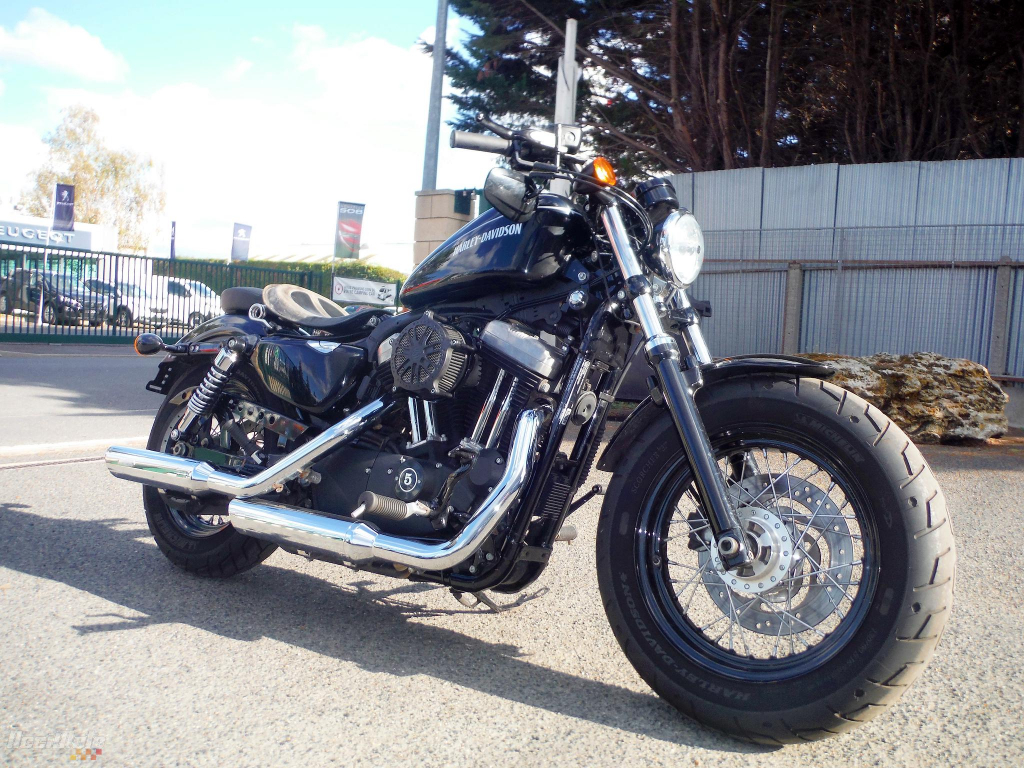 moto occasion harley davidson sportster xl1200x forty eight. Black Bedroom Furniture Sets. Home Design Ideas