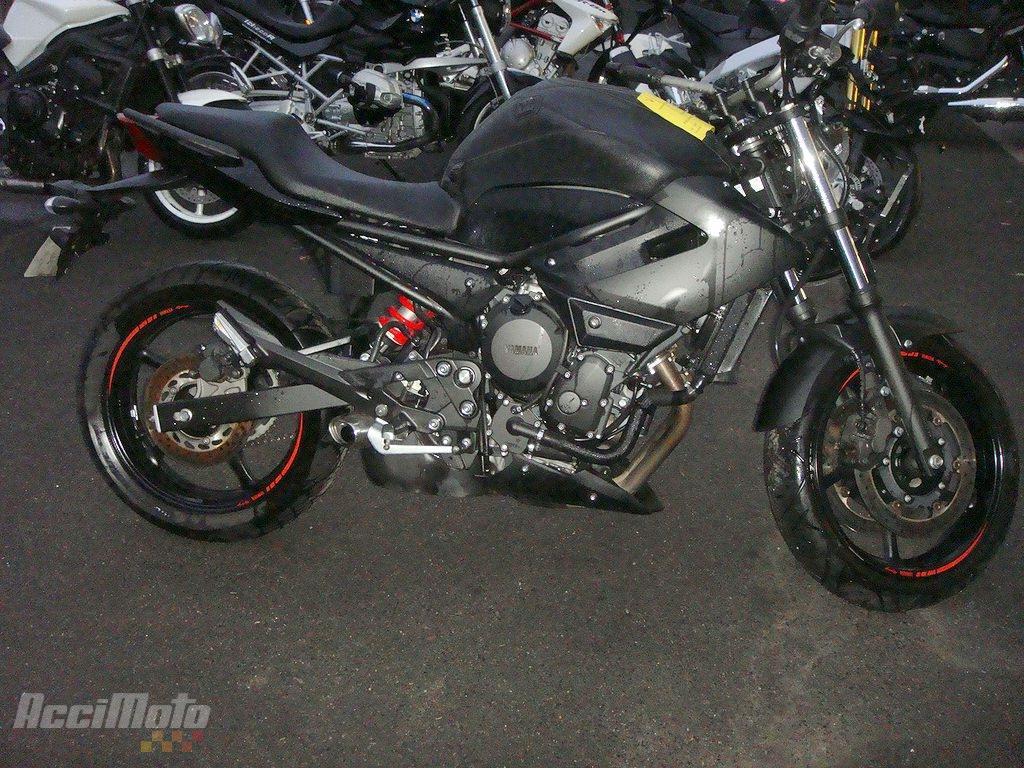 moto accident u00e9e yamaha xj6 noir