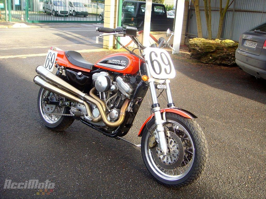 moto occasion harley davidson replica sportster xr 750. Black Bedroom Furniture Sets. Home Design Ideas