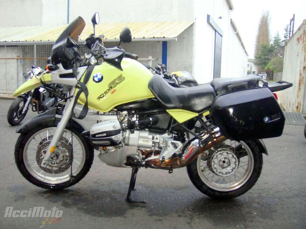 moto accident u00e9e bmw r1100 gs jaune