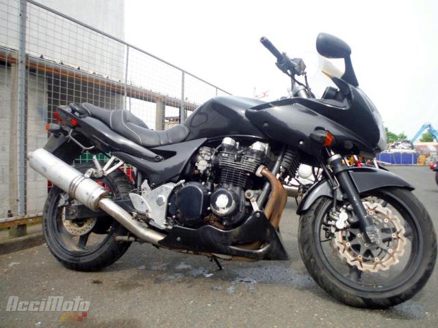 Kawasaki Zr7 N Motor Bike Powypadkowy