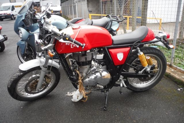 ROYAL ENFIELD CONTINENTAL 535 GT (Motor bike SÉRÜLT MOTORKERÉKPÁROK )