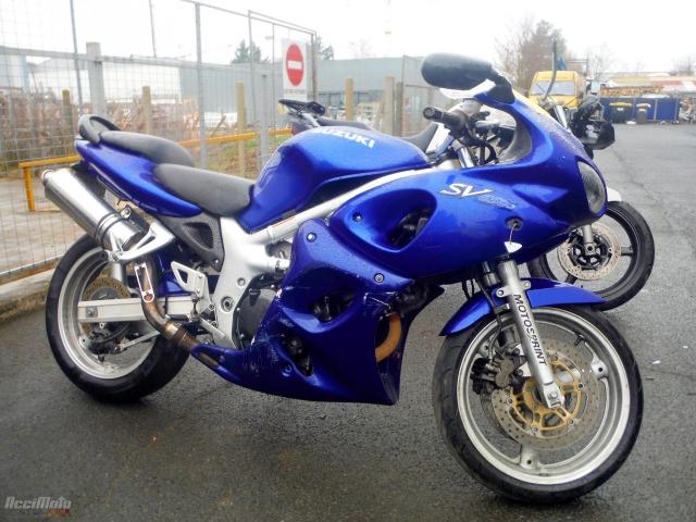 49bc54ab792 SUZUKI SV 650N (Motor bike AVARIILISED MOOTORRATTAD )