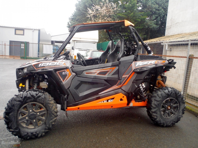 POLARIS ( QUAD ) RZR 1000 (Motor bike Damaged)