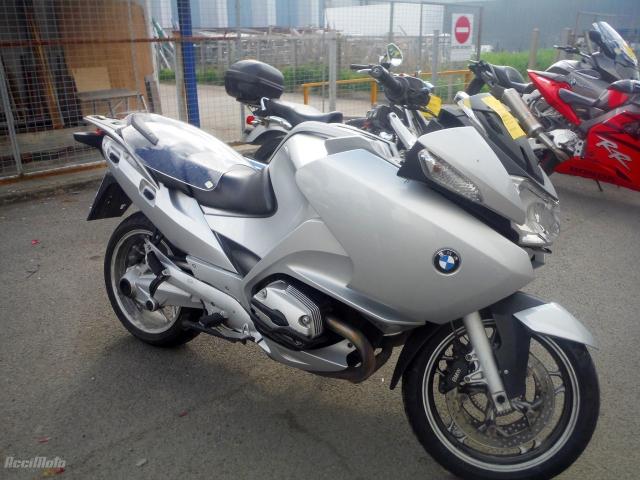 Bmw R1200 Rt Motor Bike Poškodovani Motorji