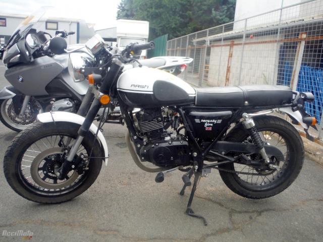 d6febd4b3fc MASH SEVENTY FIVE 125 (Motor bike МОТОЦИКЛИ ПІСЛЯ ДТП )