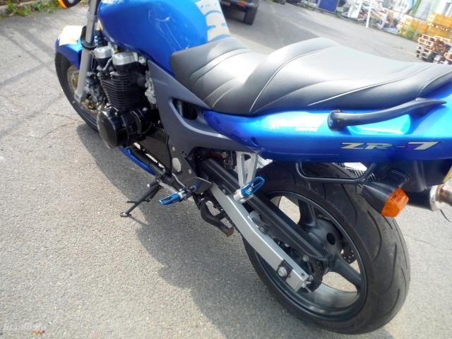 Kawasaki Zr7 Motor Bike Powypadkowy