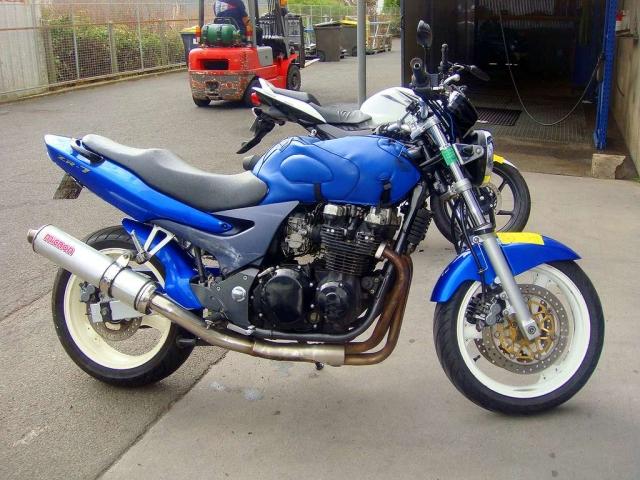 Kawasaki Zr7 N Motor Bike Avariilised Mootorrattad